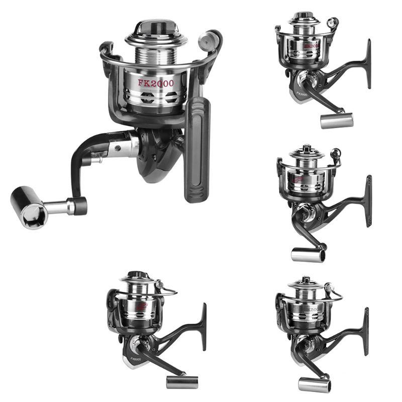 13+1BB Spinning reel fishing reel 2000/3000/4000/5000/6000 5.2:1 spinning reel casting fishing reel lure tackle line