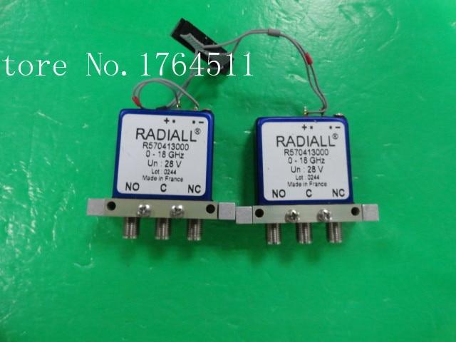 [BELLA] RADIALL R570413000 DC-18GHZ 28V SMA RF Coaxial -