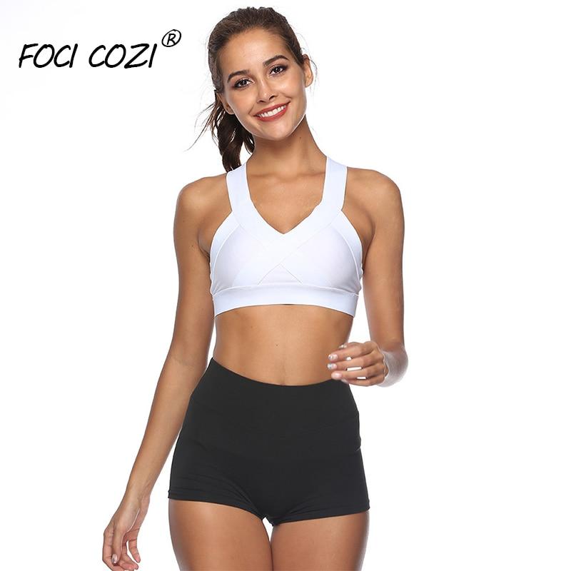 Gym   Shorts   For Women 2019 Summer   Short   spandex Women Cotton/Workout   Shorts   Running/Sport   Short   Fitness panties Black/White