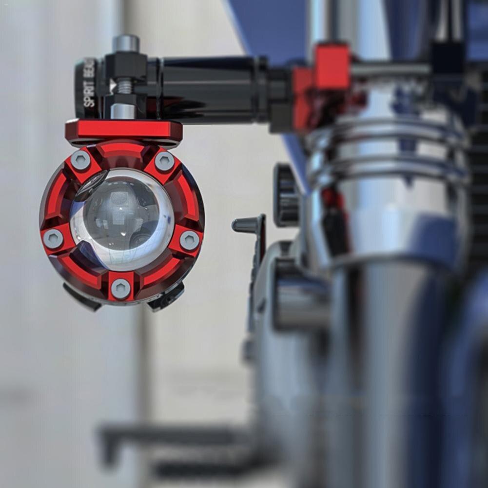 Suporte de Barra de extensão Acessórios Modificação Motocicleta Off-Road Luzes Spotlight Iluminação Suporte Da Lâmpada de Fixação Fixo Externo