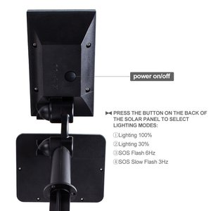 Image 2 - T SUN 50 LED שמש מופעל זרקורים 3000K חיצוני נוף אור 960 Lumens IP44 180 זווית מתכוונן עבור גן עץ פטיו