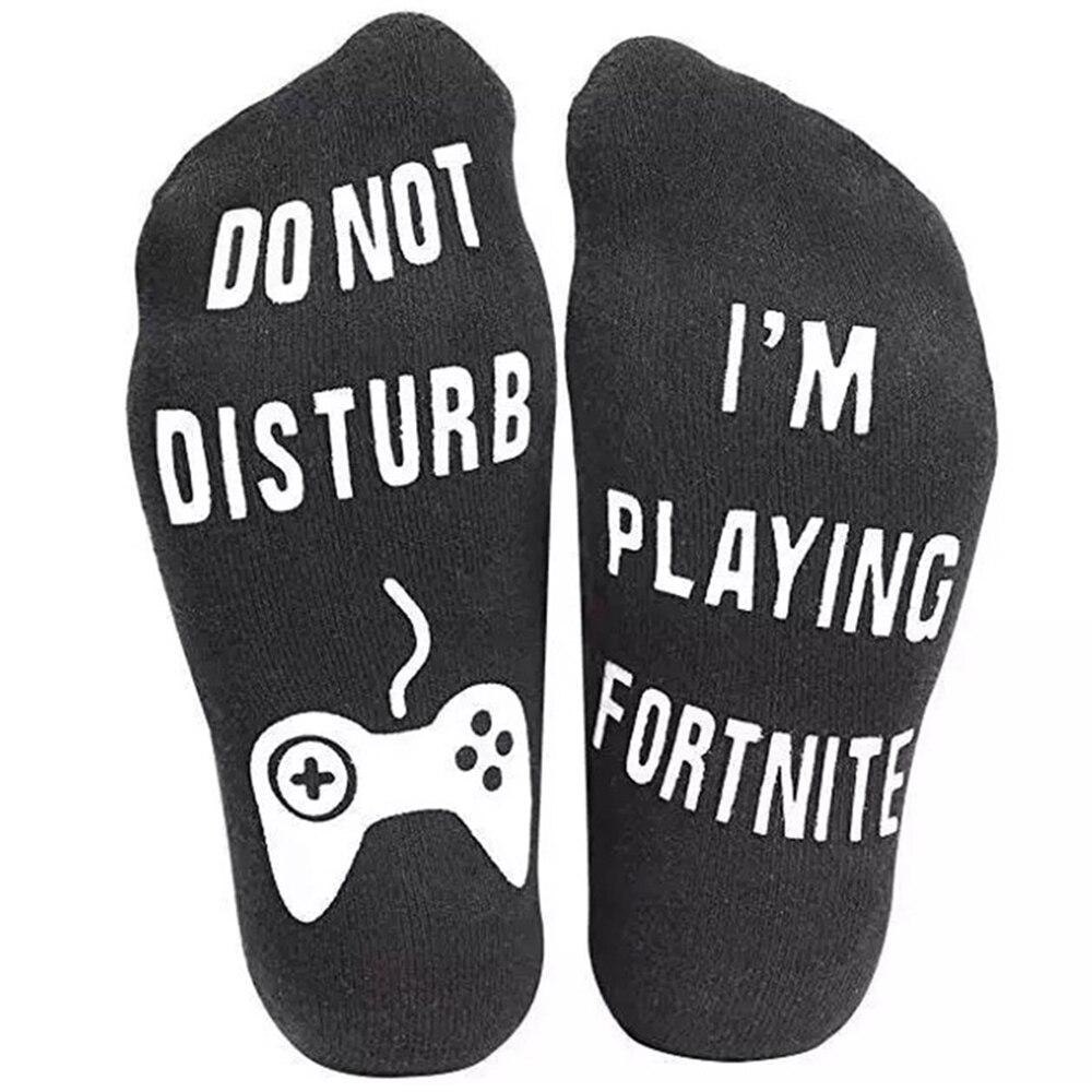 I Am Playing Game Socks Dispensing Non-slip Family Casual Men's Short Socks