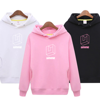 UNINE Hoodie Sweatshirt Women Hoodies Print Sweatshirt Women Pullovers Kpop Boys top Solid Color Hoodies