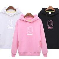 UNINE Hoodie Sweatshirt Women Hoodies Print Sweatshirt Women Pullovers Kpop Boys top Solid Color Hoodies