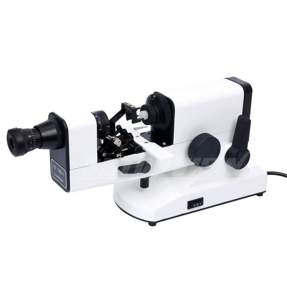 GJD-7 ручной линзметр оптический линзметр внутреннего чтения единица призмы в комплекте