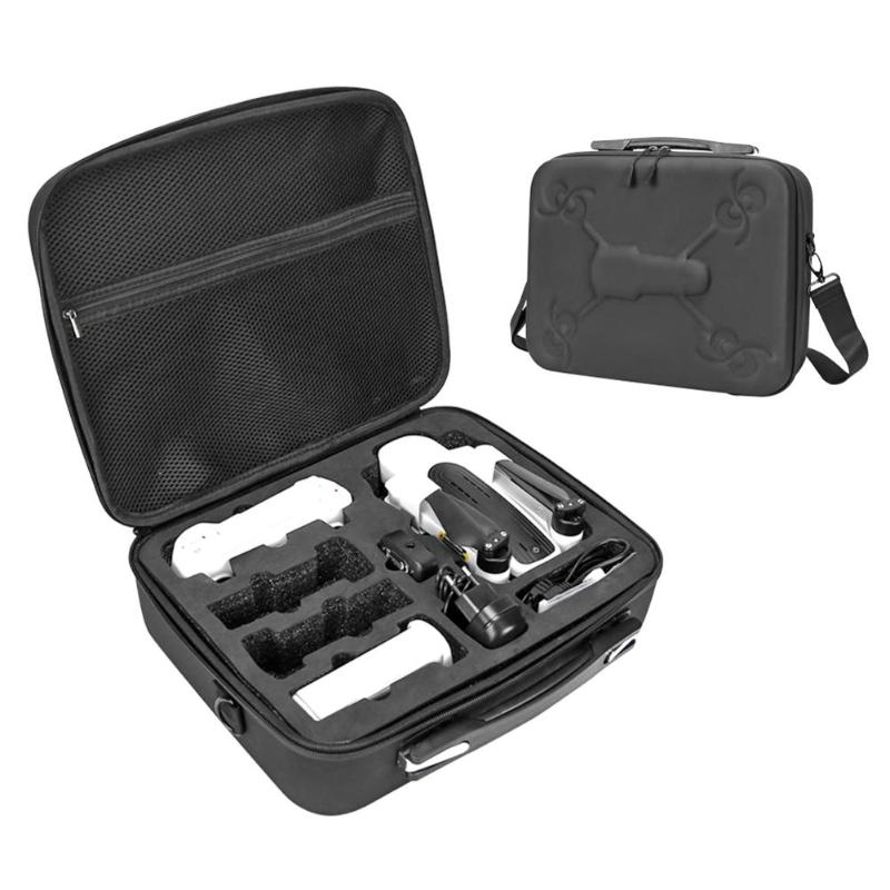 Portable PU Carrying Case Storage Bag Shoulder Bag Box For Hubsan Zino H117S 4K Designing 3 Cell Holes Better Separate Storage