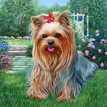 3D DIY Square Diamond Painting Hot Sale Full  Embroidery Crafts Needlework Kits Home Decor Dog