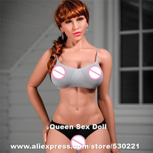170CM Top quality realistic sex dolls big breast, silicone adult dolls, full size love dolls, oral vagina anal pussy sex toy