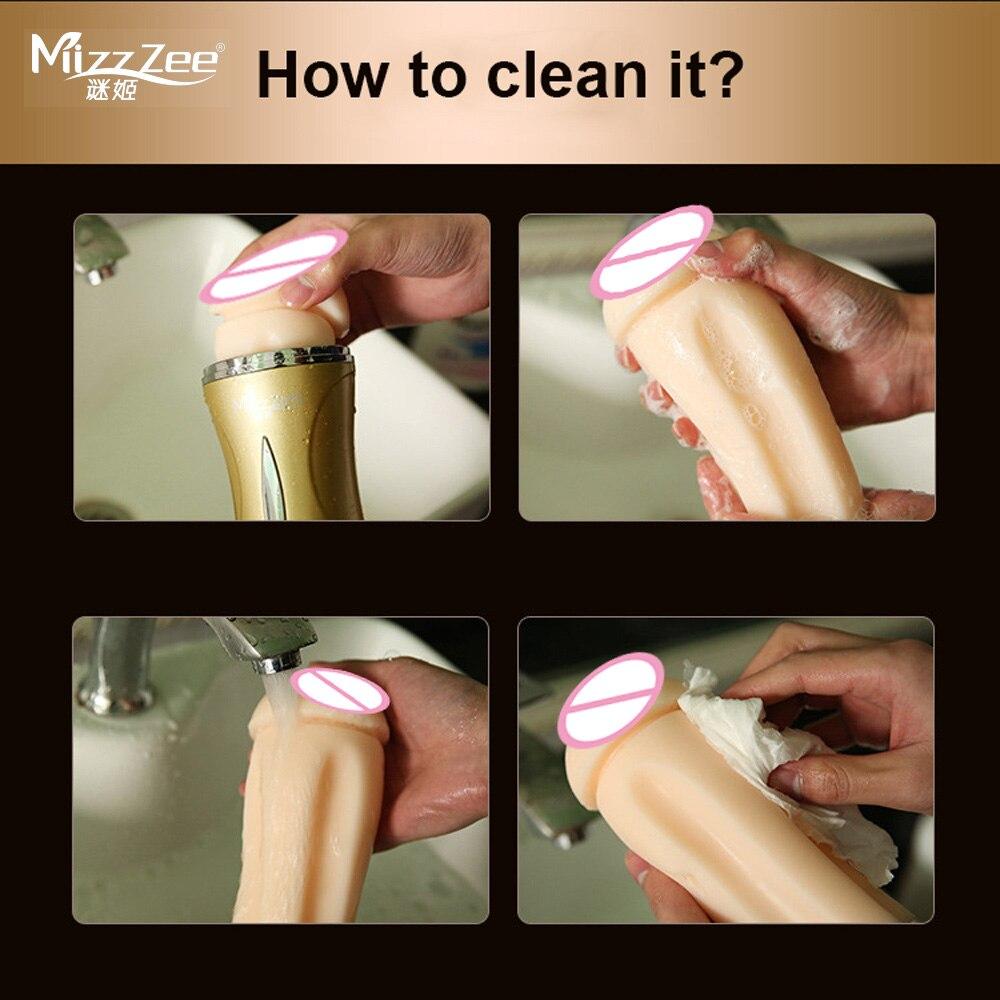 Anal Masurbation mizzzee male masturbator sex toys for men masturbation cup
