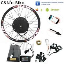 2019 Мощный 5000 Вт колеса Электрический велосипед conversion kit концентратор Двигатель наборы