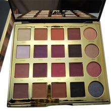 Cores Argila 20 Borgonha Shimmer Matte Sombra Paleta Da Sombra de Olho Maquiagem Profissional Da Paleta Da Sombra de Maquiagem Sombras