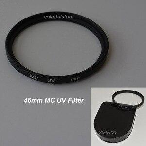 Image 1 - 46มิลลิเมตร46มิลลิเมตรหมอกควันหลายเคลือบอัลตราไวโอเลตอัลตร้าไวโอเล็ตMCUV MC UVกรองกรองเลนส์ป้องกันสำหรับS Amsungพานาโซนิคฟูจิเลนส์