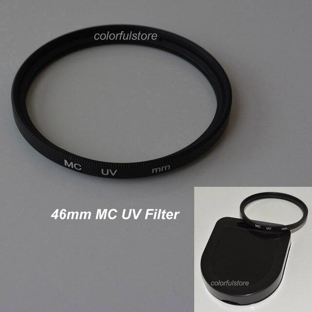 46มิลลิเมตร46มิลลิเมตรหมอกควันหลายเคลือบอัลตราไวโอเลตอัลตร้าไวโอเล็ตMCUV MC UVกรองกรองเลนส์ป้องกันสำหรับS Amsungพานาโซนิคฟูจิเลนส์