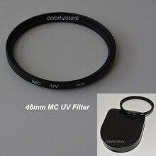Protecteur de lentille de filtre UV ultra violet ultra violet MCUV MC de 46mm 46mm pour lentilles Samsung Panasonic Fuji