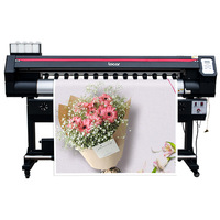 Inkjet Wide Format Printer For Adversting Car Warps Poster Outdoor Digital Printing Machine 5Ft Banner Printing Machine