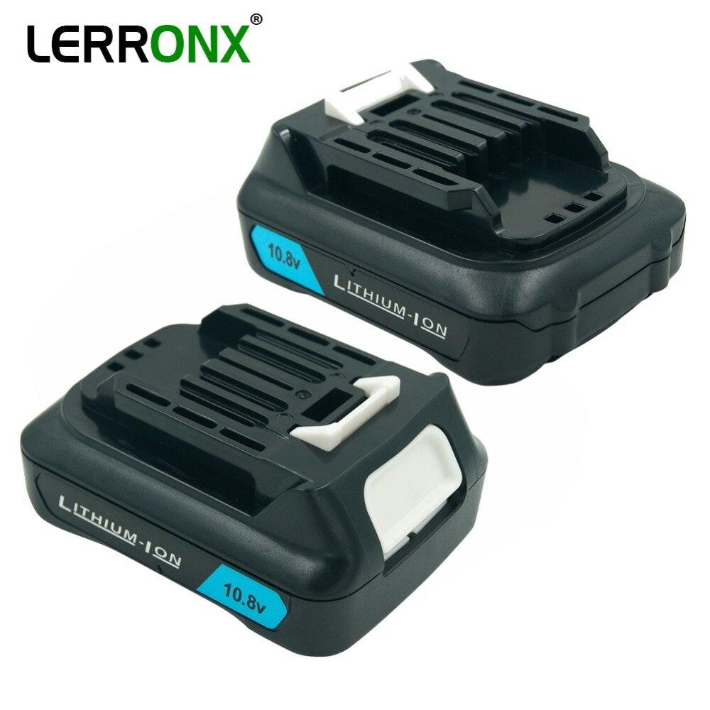 BL1020 Rechargeable Battery 10.8V 2.0Ah Li-ion For Makita BL1040 BL1015 BL1041 DF031DZ DF332DZ TL064DZ TD110DZ HS301D