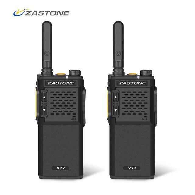 Mini Portable Ham Radio Walkie Talkie 400-470mhz UHF 16 Channels Powerful Handheld Two Way Radio One Pair 2pcs