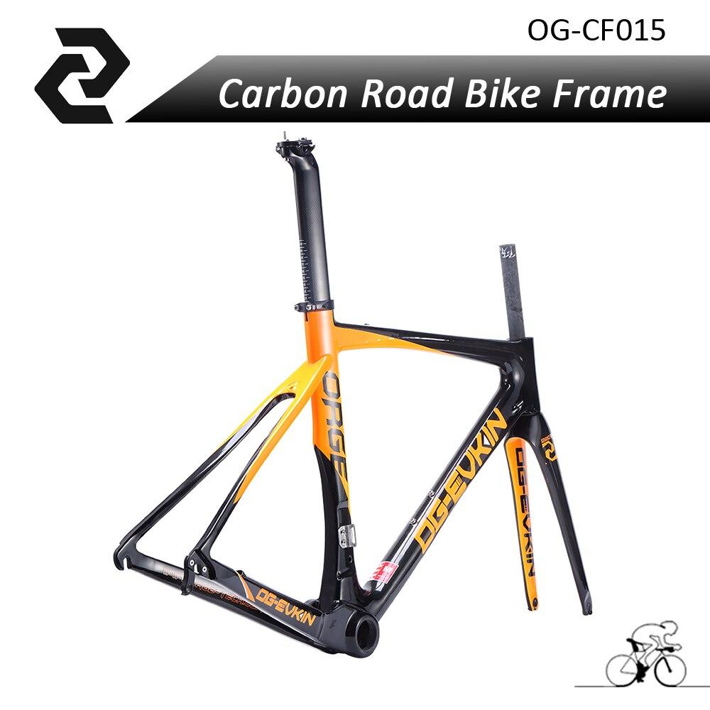 OG EVKIN Super font b Light b font Weight Carbon font b Bicycle b font Frame