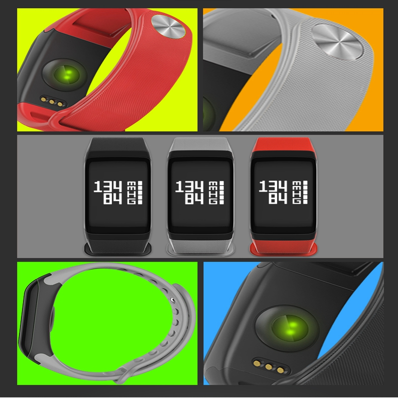 2017 manufacture wearable heart rate monitor watch gps tracker smart pedometer watch couples smart bracelet in smart wristbands from consumer electronics on
