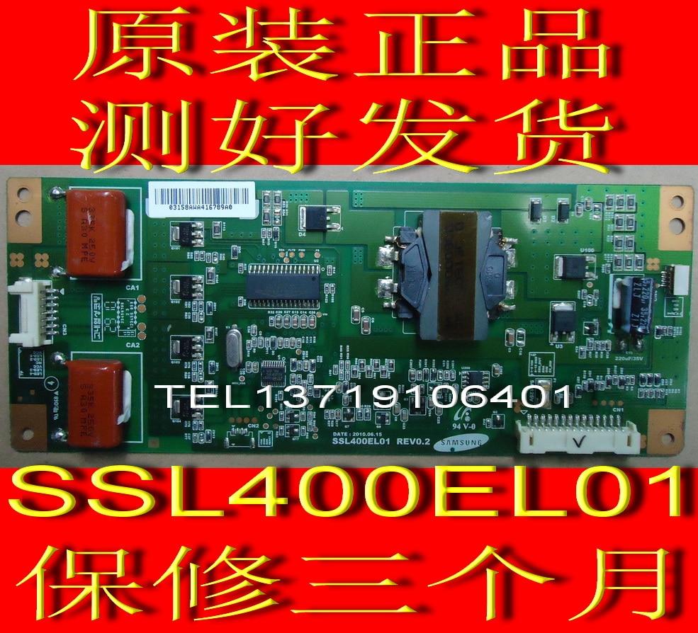 FOR Konka LC401S88EN constant current board SSL460EL01REV0.2 screen with Samsung LTA400HF16 is used original konka lc40gs60dc kip l200i12c1 01 35014948 rev 00