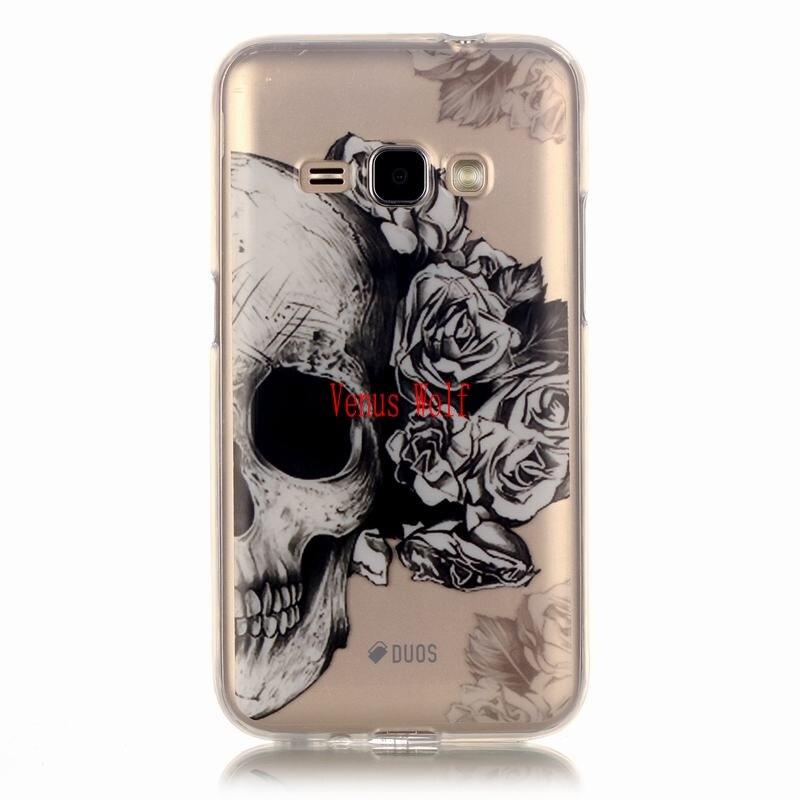 For Samsung Galaxy J1 2016 SM-J120F J120FN SM-J120FN Case Silicon Cartoon Phone Case for coque Samsung Galaxy J1 6 2016 cover