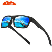 FRALU Polarized Sunglasses Men's Driving Shades Male Sun Glasses For Men Retro Cheap 2018 Luxury Brand Designer Oculos