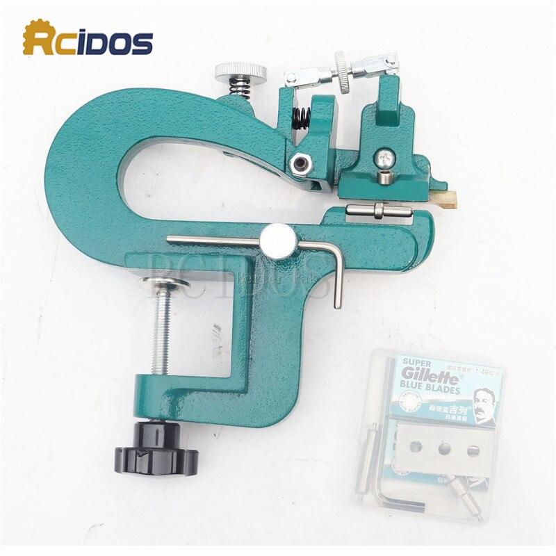 Couro ER809G splitter, RCIDOS aparas de couro kit dispositivo, largura máxima 35mm, couro skiver, vegetais curtidos descascador de couro