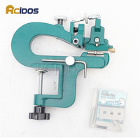 ER809G Leather Splitter RCIDOS Leather Paring Device Kit Max 35mm Width Leather Skiver Vegetable Tanned Leather