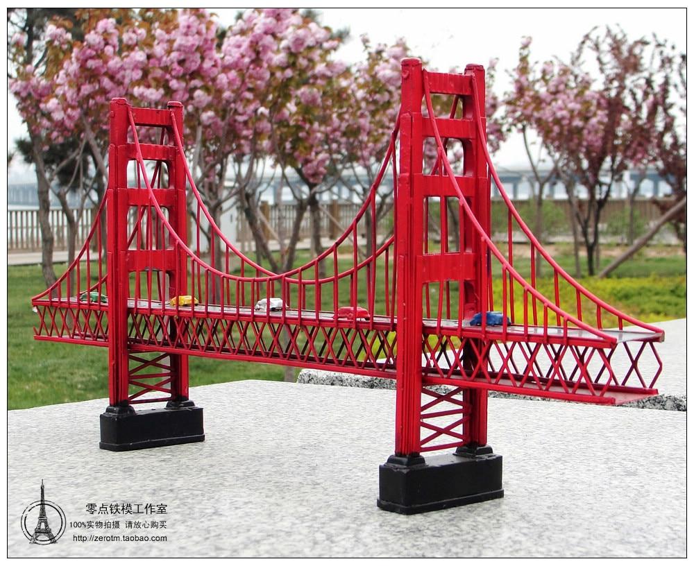 Aliexpress Com Buy Antique Classical Golden Gate Bridge