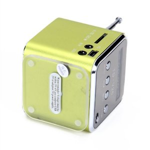 Image 4 - TD V26 Haut parleur Portable Mini et Digital avec Micro SD / TF / USB / FM   Vert