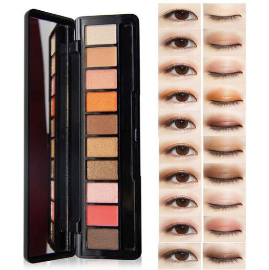 Hot Sale Eye Makeup Palette Natural Light 10 Colors Nude -4582