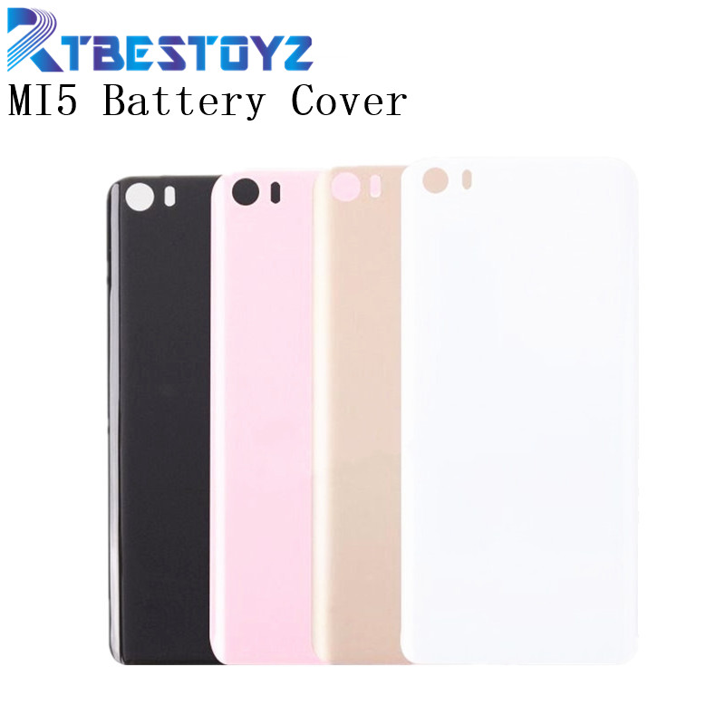 RTBESTOYZ For <font><b>Xiaomi</b></font> Mi 5 M5 <font><b>Mi5</b></font> <font><b>Battery</b></font> <font><b>Cover</b></font> Original 3D Plastic Material Back <font><b>Battery</b></font> Door Housing <font><b>Cover</b></font> Case For <font><b>Xiaomi</b></font> 5 image