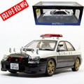 Brand New AUTOart 1/18 Scale JAPAN SUBARU IMPREZA WRX STI POLICE Version Diecast Metal Car Model Toy For Collection/Gift