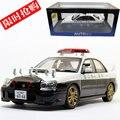 Marca Nueva AUTOart 1/18 Escala JAPÓN SUBARU IMPREZA WRX STI Versión POLICÍA Diecast Metal de Coches de Juguete Modelo De Recogida/regalo
