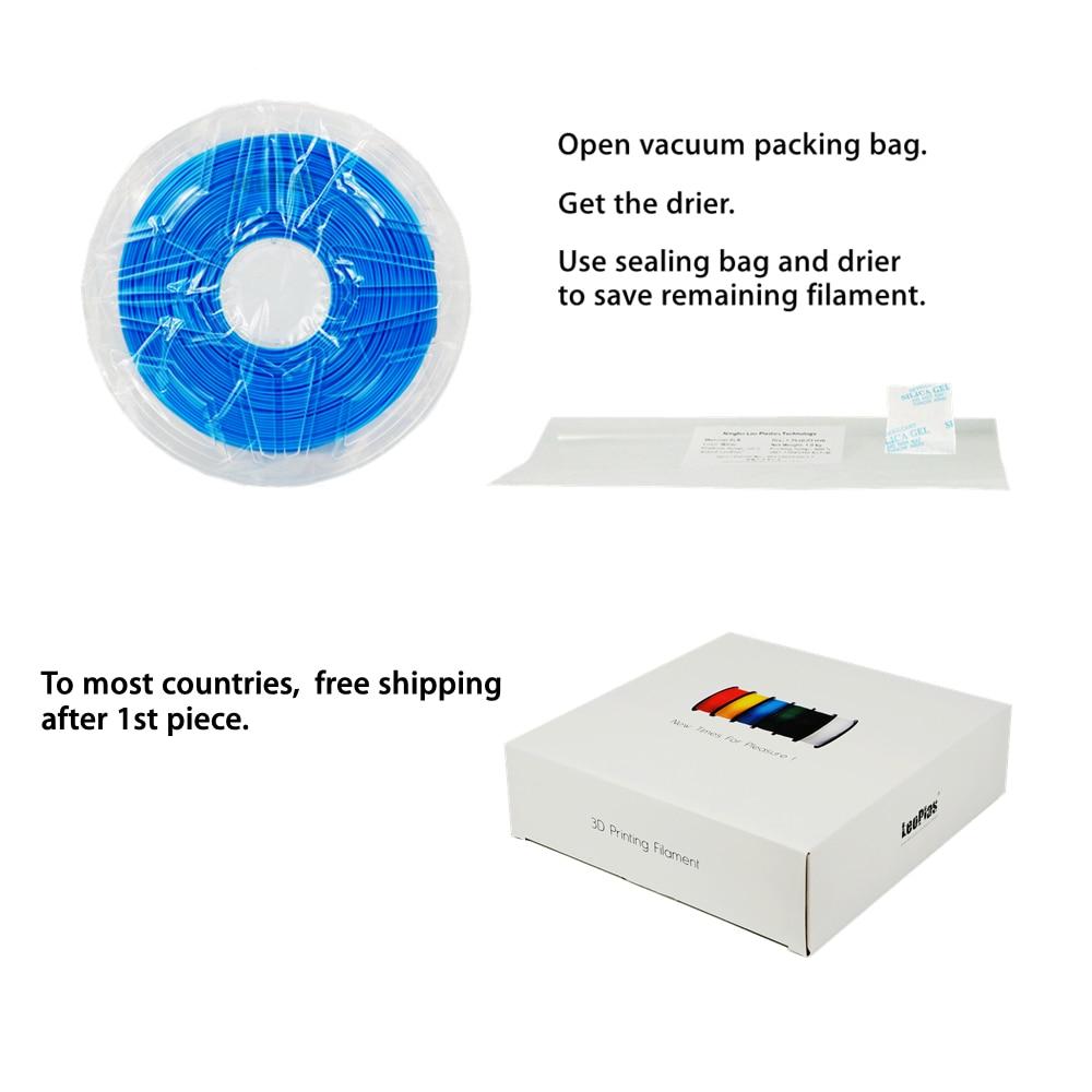 ABŞ İspaniya Çin Vergisiz Anbar 2.85mm No Warp Yeni ABS Filament - Ofis elektronikası - Fotoqrafiya 5