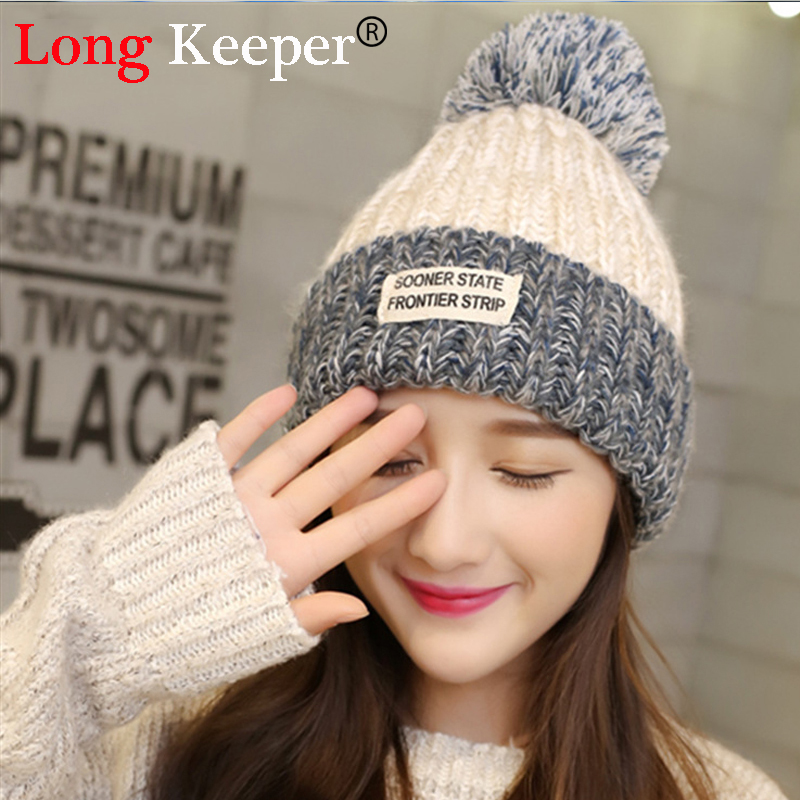 Elegant Womens Winter Rabbit Fur Hat Female Fall Knitted Hats For Woman Cap Autumn And Winter Ladies Fashion Skullies Beanies velvet thick keep warm winter hat for women rabbit fur knitted beanies ladies female fashion skullies elegant hats for women