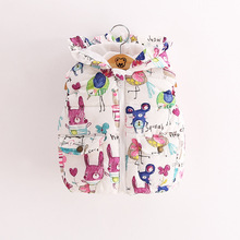 2016 New Arrival Children Winter Jackets For Girls Baby girl Clothes Kids Winter Outwear Cartoon Printing Fashion Jacket