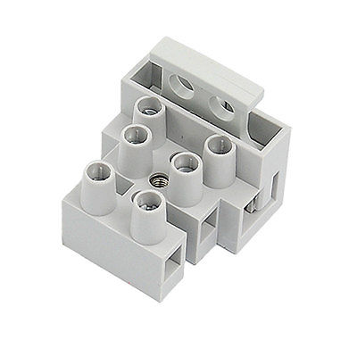 10 Pcs 3P Terminal Block Connector for 5x20mm Fuse|terminal block|connector terminal block|connector 3p - title=