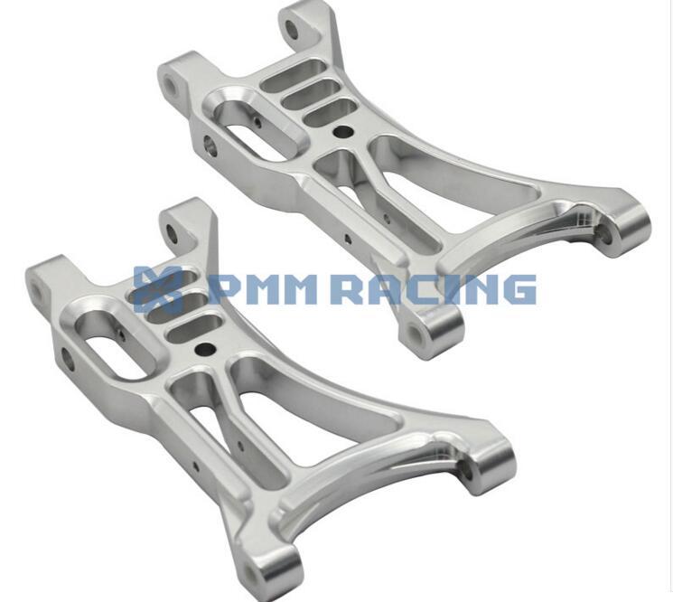 BAJA 5B 5B SS 5T CNC aluminum alloy rear lower arm baja alloy rear lower control arm 2pc