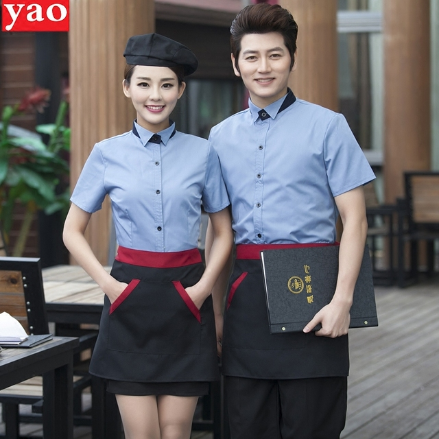 Buy fast food restaurant uniforms shirts for Restaurant uniform shirts wholesale