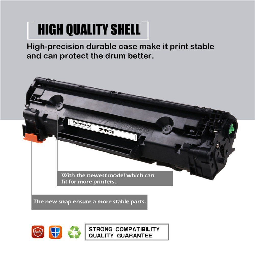 283A 283 83A CF283A BLACK compatible toner cartridge for HP LaserJet Pro M201dw M201n MFP M125a