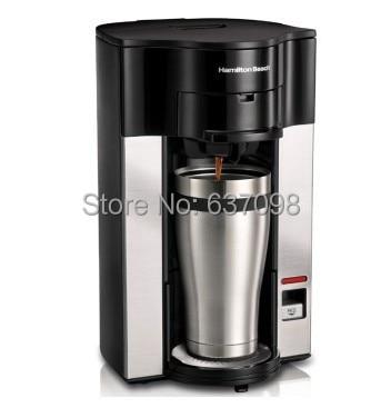 Hamilton Beach 49993 Cn Home Single Cup Drip Coffee Pot Coffee