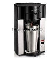 Hamilton Strand 49993 CN hause einzigen tasse drip Kaffee topf/Kaffee maschine tropf kaffee maker 110 220 240v 400 ml-in Kaffeemaschine-Teile aus Haushaltsgeräte bei