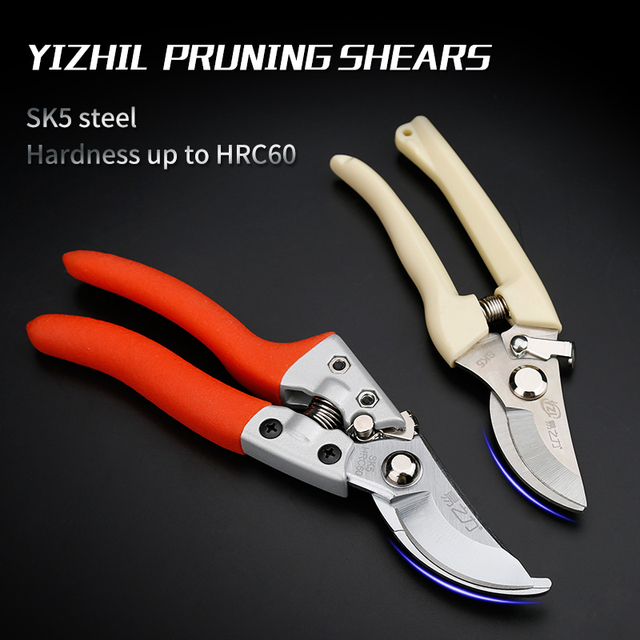 Garden Scissors Grafting Tool Fruit Tree Pruning Shears Bonsai Pruners Garden Shears Gardening Secateurs Easy Pruners