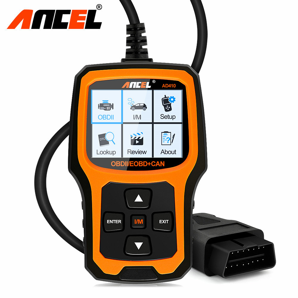 obd2 obd car diagnostic auto scanner diagnostic tool ancel ad410 read clear fault error codes. Black Bedroom Furniture Sets. Home Design Ideas