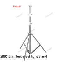 289 S stainless steel fixtures are large photography film and television LED panel light spot flash general load 10 kg CD50 T03