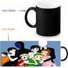 Custom Coffee Morphing Mugs Creepypasta Family Heat Sensitive Tea Milk Cup Black Color Changing Magic Ceramic Mug 350ml/12oz 2