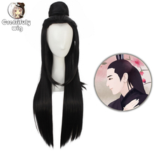 2019 New Eternal Love Ponytail Long Black Cosplay Wig Ancient Costume Synthetic Hair Wigs For Party