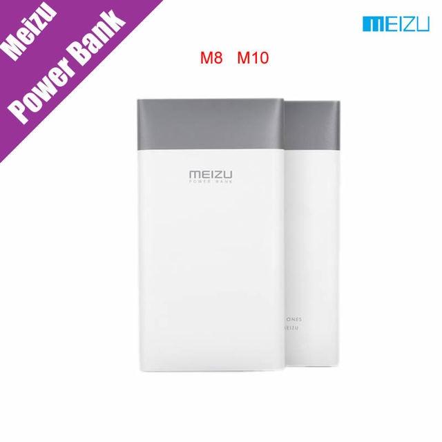 Оригинальный Meizu Банк M8 M10 10000 мАч Power Bank Быстрая Зарядка Высокой Емкости 5 В/2A 9 В/2A