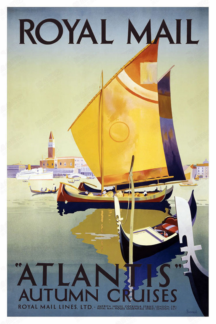 online get cheap cruise ship poster aliexpress com alibaba group autumn cruises atlantis royal mail ship vintage classic retro decorative poster diy wall stickers posters home decor gift